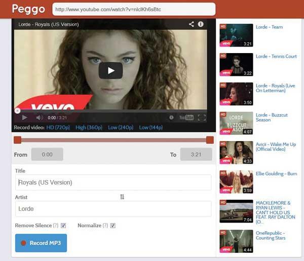 Peggo.co web app