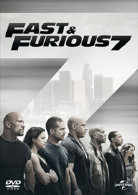 Fast & Furious 7 DVD inlay