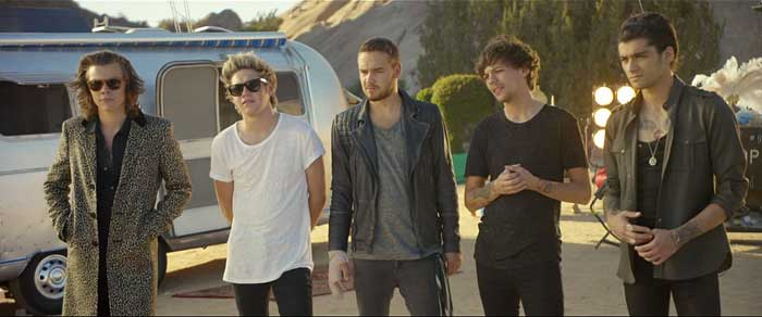 Screenshot from video of Steal My Girl