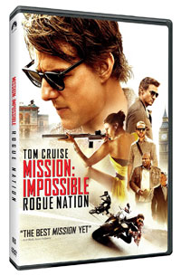 Mission Impossible Rogue Nation DVD cover