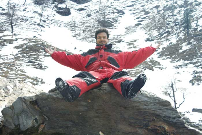 Chandan Sharma recharges on his visit to Chandigadh and Manali.