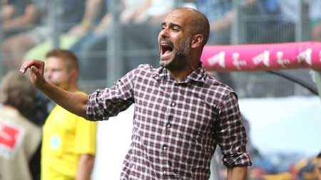 Pep Guardiola, Manager, Manchester City FC