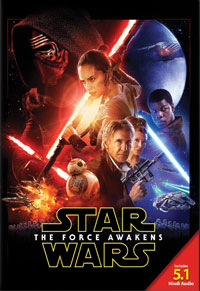 Star Wars: The Force Awakens DVD cover