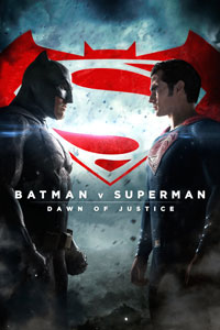 Batman v Superman DVD cover