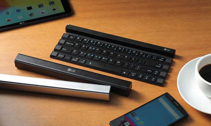 LG's Rolly keyboard