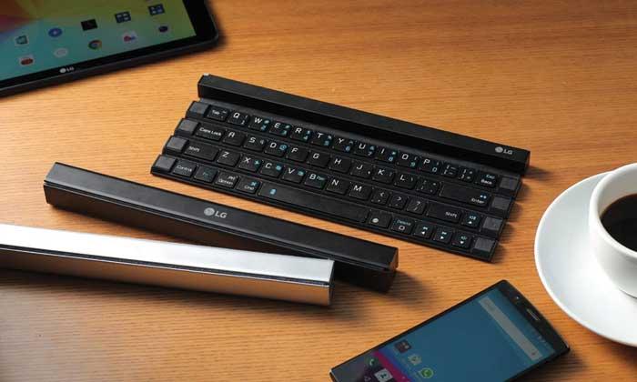 LG's Rolly keyboard
