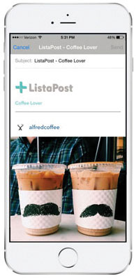 ListaPost app screenshot