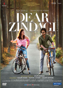 Dear Zindagi DVD cover