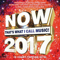 NOW That's What I Call Music 2017 CD cover