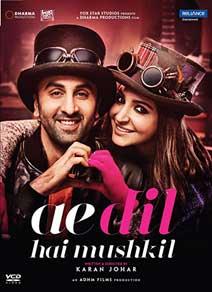 Ae Dil Hai Mushkil DVD cover