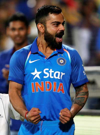 Virat Kohli, captain of the Indian cricket team