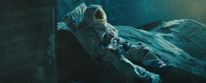 David Bowie's Blackstar video screenshot