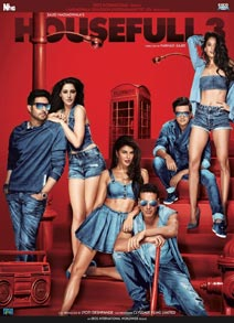 Housefull 3 DVD cover