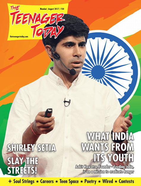 Cover of the August 2017 issue of The Teenager Today