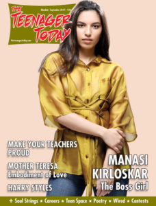 Cover of the September 2017 issue of The Teenager Today