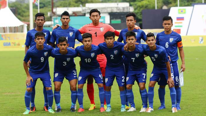U-17 World Cup India football team