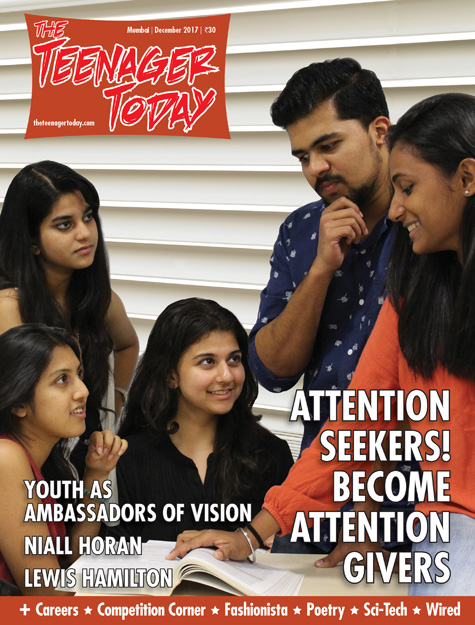 Cover of the December 2017 issue of The Teenager Today
