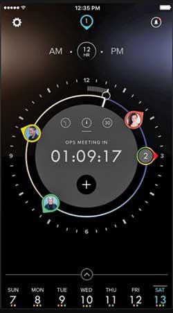 Dials, the calendar app