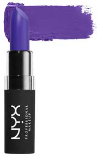 Lipstick in ultra violet shade
