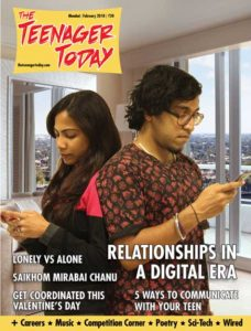 Cover of the February 2018 issue of The Teenager Today