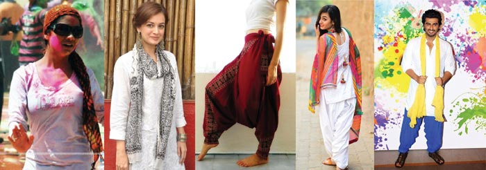 Western and ethnic outfits to wear for Holi