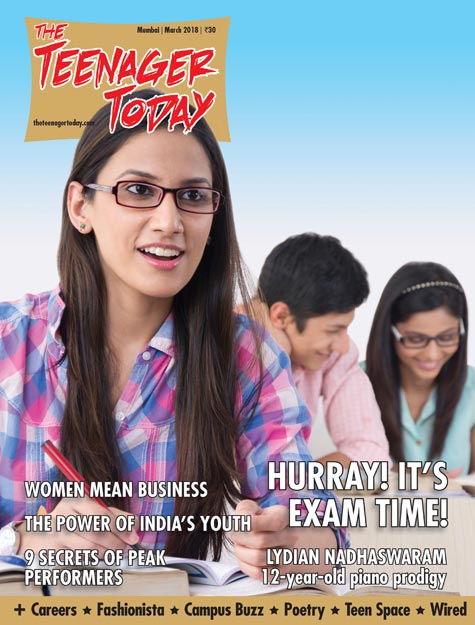 Cover of the March 2018 issue of The Teenager Today