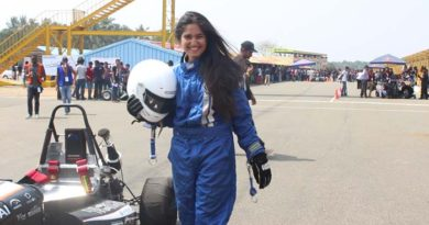 India's first Formula Student Racing female driver wins third at the Formula Bharat competition