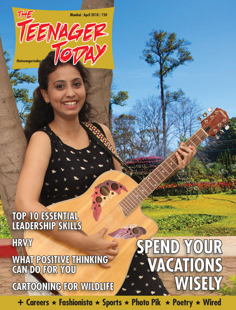 Cover of the April 2018 issue of The Teenager Today