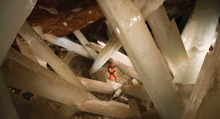 Cave of Crystals in Chihuahua, Mexico
