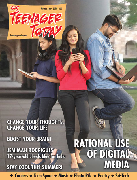 Cover of the May 2018 issue of The Teenager Today
