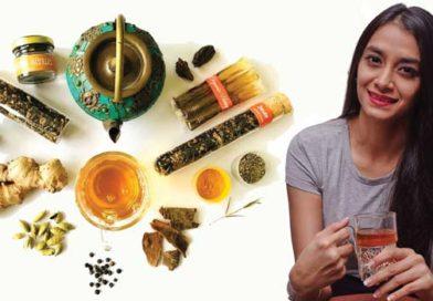 Amareen Khurana, founder of Brewlette, a line of flavoured teas