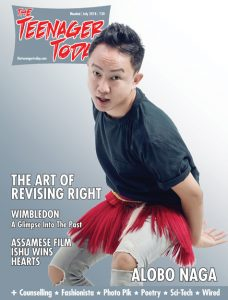 Cover of the July 2018 issue of The Teenager Today