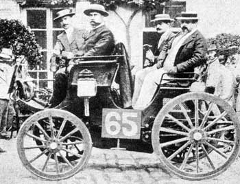 World's first motor race