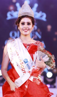 Laskhmi Menon, Miss Queen of India 2018