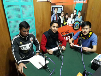 Students of Radio Salesian