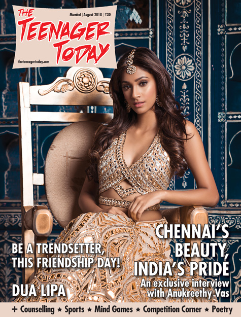 Cover of the August 2018 issue of The Teenager Today