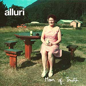 Cover of Alluri's album, Man of Truth