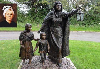 Nano Nagle statue in Ballygriffin near Mallow