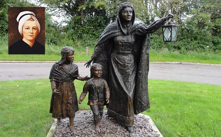 Nano Nagle statue in Ballygriffin near Mallow