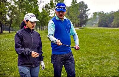 Pratima with her coach Sachin Bhattarai