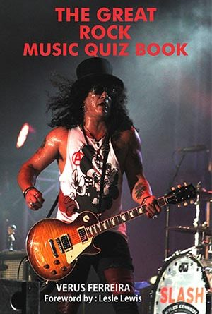 Cover of The Great Rock Music Quiz Book