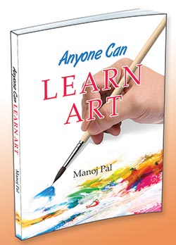 Cover of the book Anyone Can Learn Art by Manoj Pal