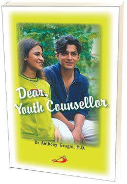 Cover of the book Dear Youth Counsellor by Dr Anthony Grugni