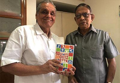 Ramanathan Krishnan with Vijayan Bala