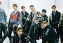 Nine members of K-pop boyband EXO