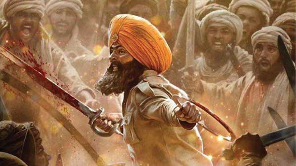 A scene from the movie Kesari
