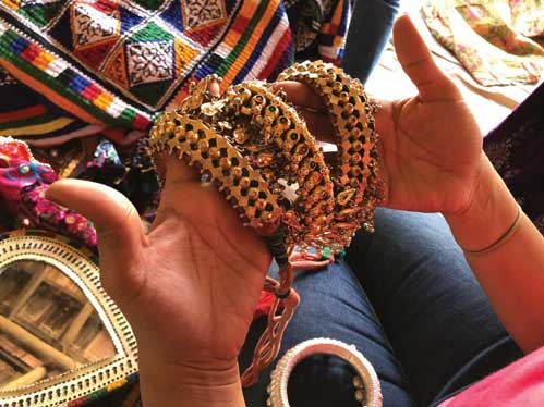 Handicrafts from the Rann of Kutch