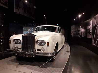Elvis Presley's Rolls Royce at Graceland