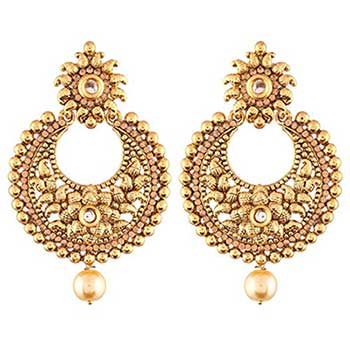 Ethnic gold chaan bali