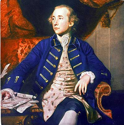 Painting of Warren Hastings, first British Governor General of India
